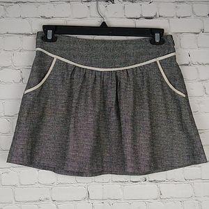 Urban Outfitters Lux Linen Blend Skirt 6 Pockets